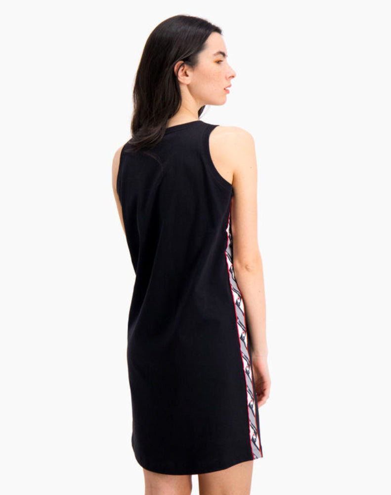 JACQUARD LOGO TAPE TANK DRESS