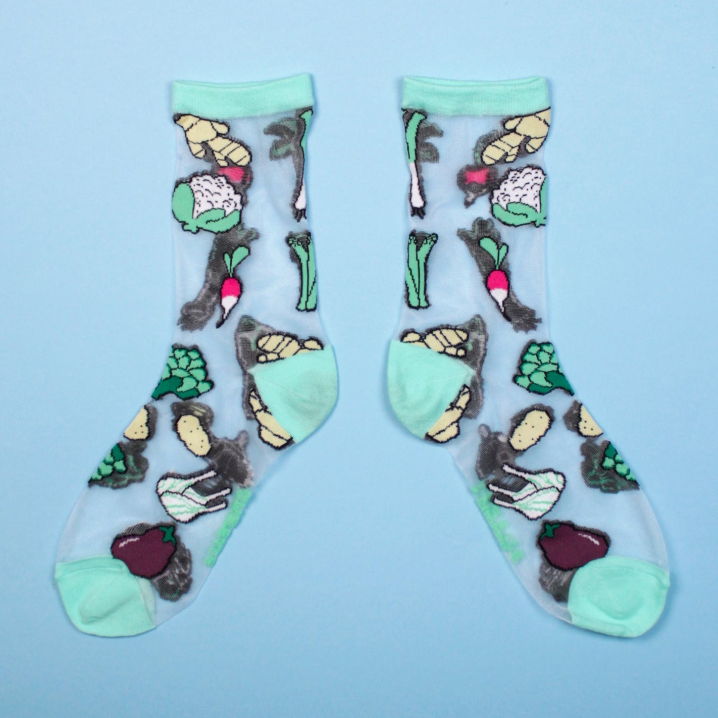 VEGGIE TRANSPARENT SOCKS