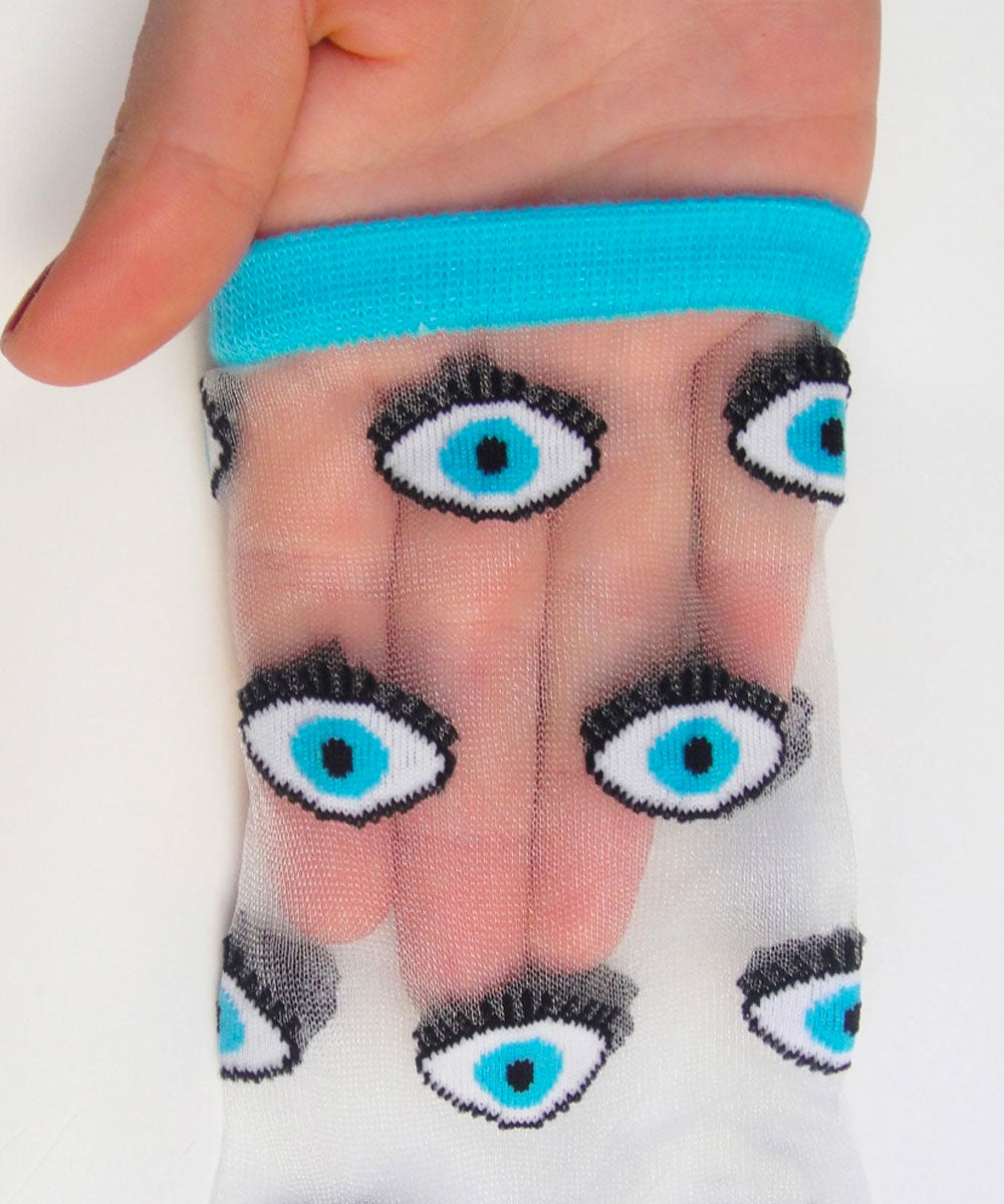 EYE TRANSPARENT SOCKS