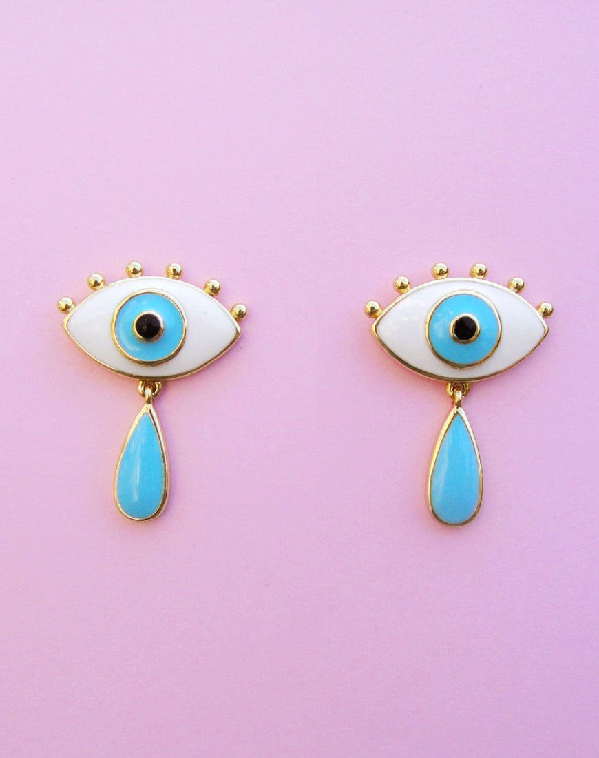 EYES CRYING EARRINGS