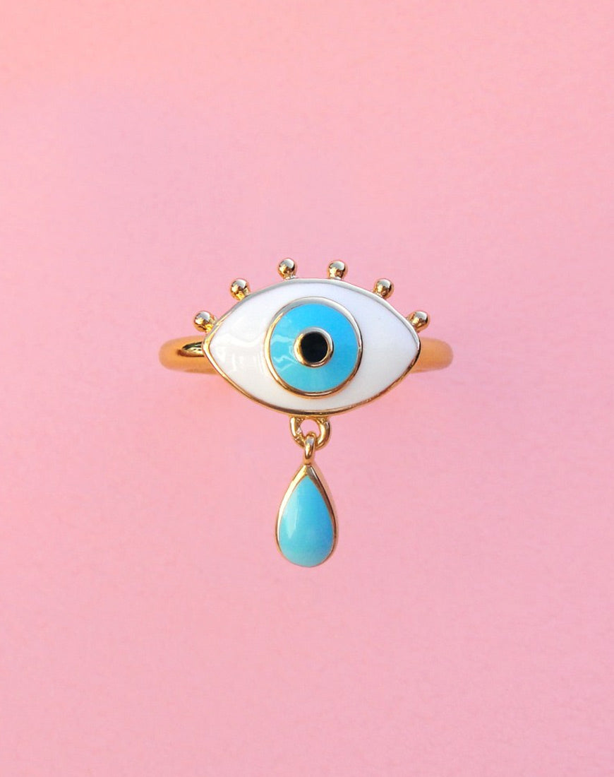 EYE CRYING RING