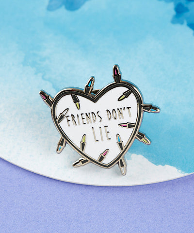YES & NO HANDS PIN