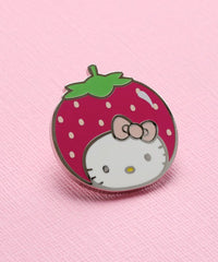 HELLO KITTY STRAWBERRY PIN