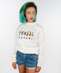 SAFARI TURTLENECK SWEATSHIRT