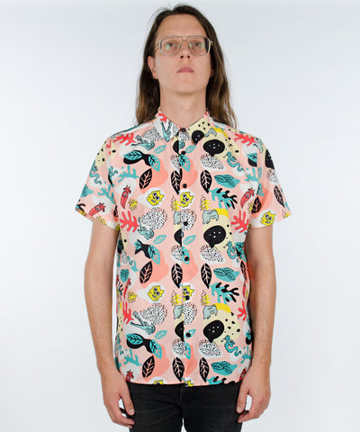 SAFARI ANIMALS CAMO SHIRT