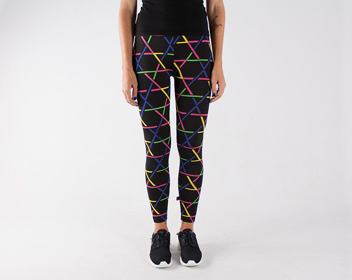 NEON STROBE Leggings
