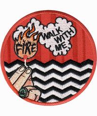 TWIN PEAKS FIRE WALK PATCH