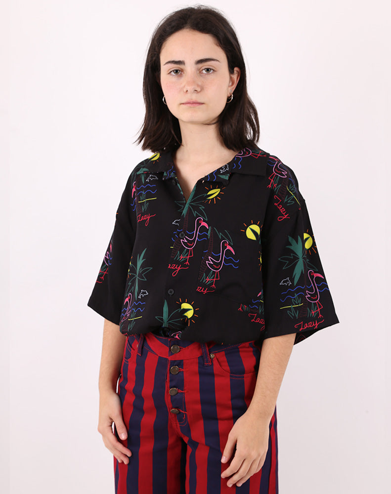 LAZY DAYS HAWAIAN SHIRT