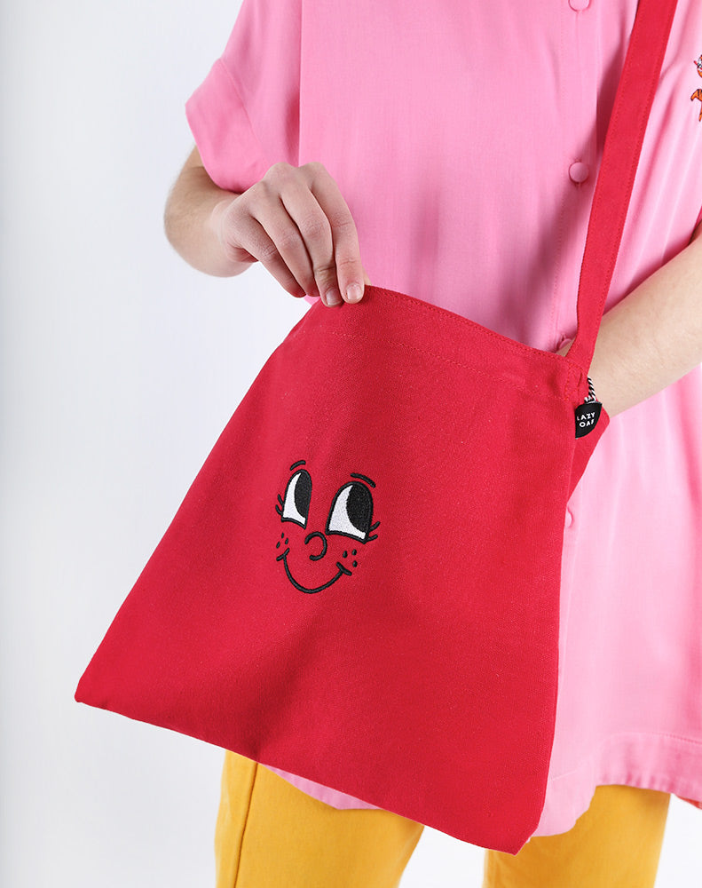 LITTLE RED FACE BAG