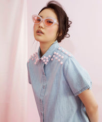 GUM BALL DENIM SHIRT