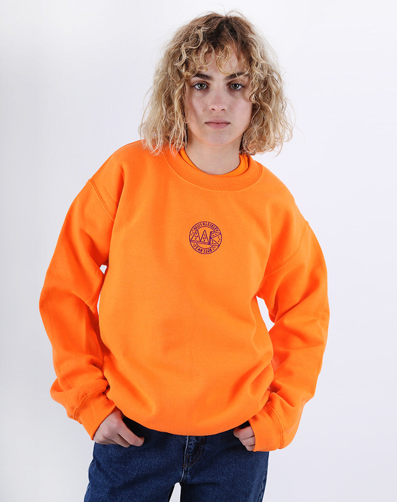 MK COLORS - NEON ORANGE SWEATSHIRT