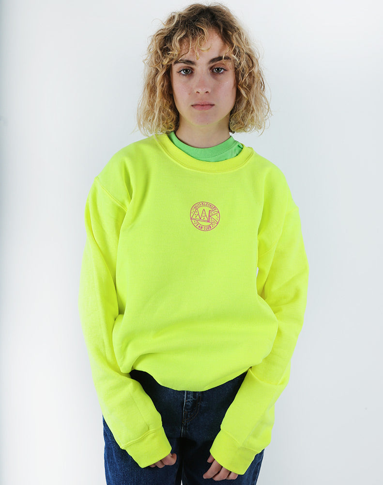 MK COLORS - NEON YELLOW SWEATSHIRT