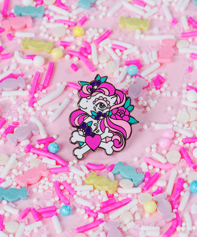 TATTOO PONY PIN