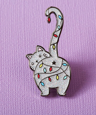 COOL KITTY KEYCHAIN