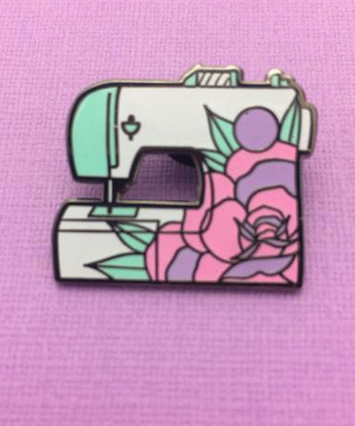 MINT DINOSAUR PIN