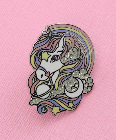 BLACK RAINBOW PIN