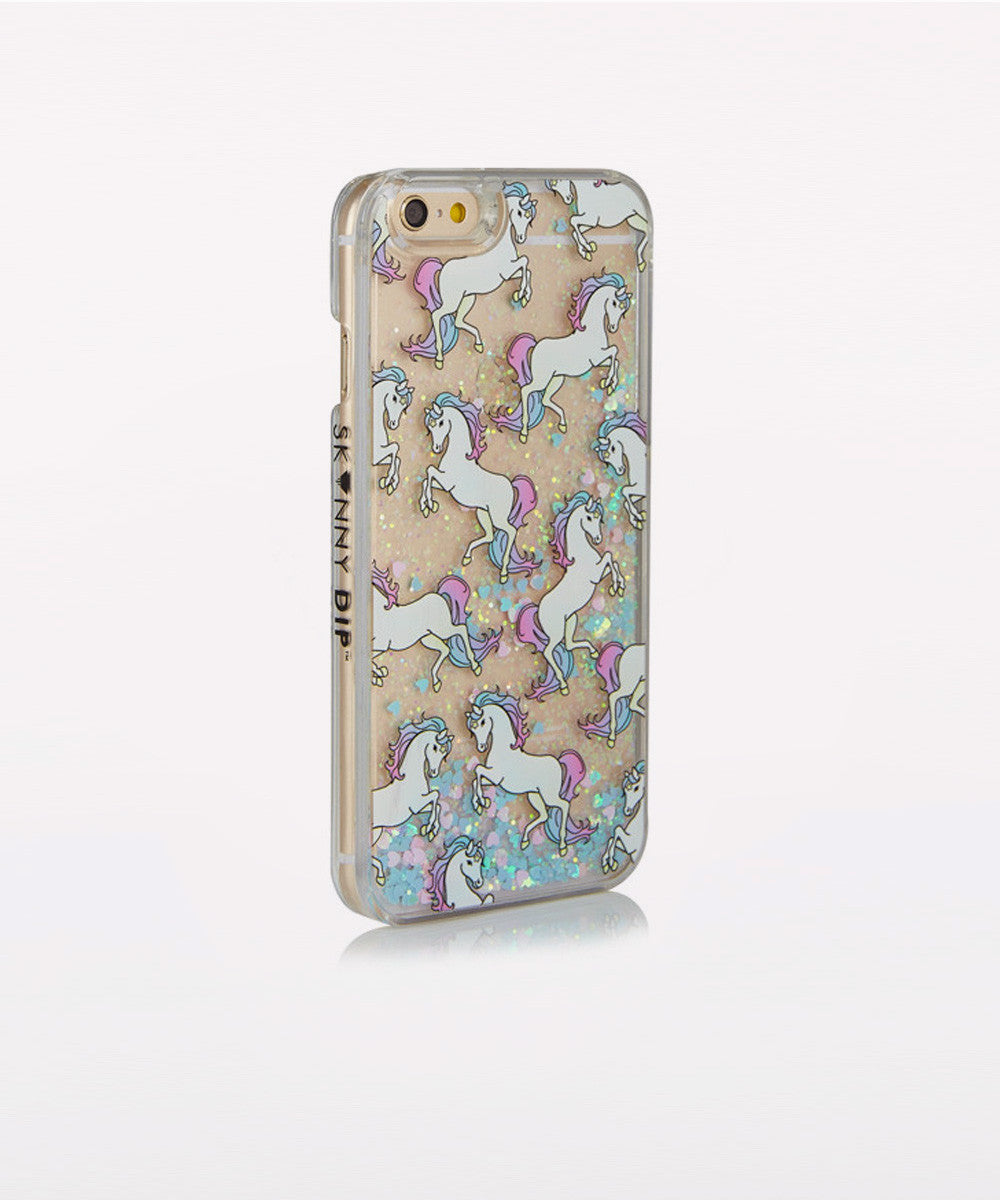 GLITTER UNICORNS IPHONE 6/6S & 6PLUS