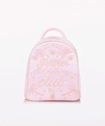 RATHER DO NOTHING MINI BACKPACK