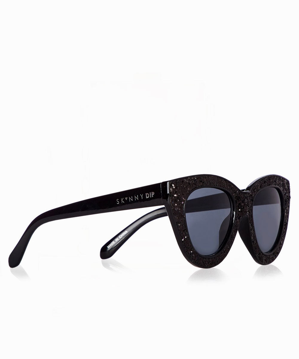 MABEL BLACK SUNGLASSES