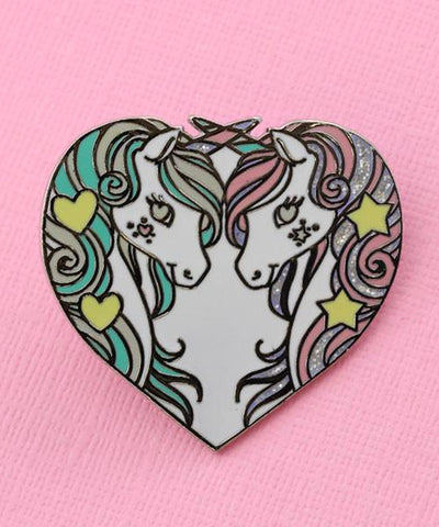 PRANCING UNICORN PIN