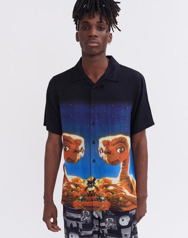 THE FLINTSTONES DINO LEOPARD BOWLING SHIRT