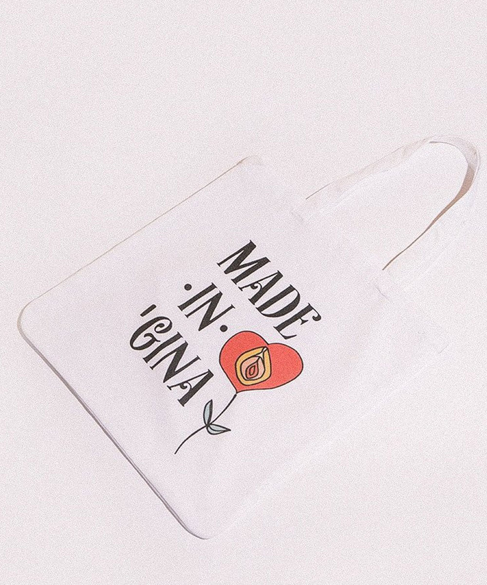 MADE IN GINA TOTE BAG