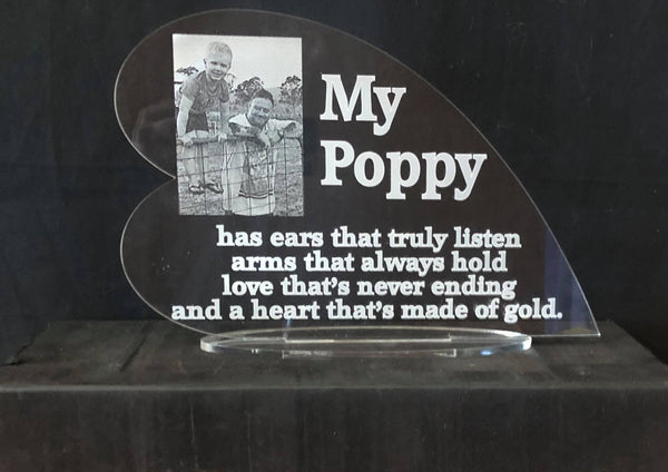 My Poppy Plaque