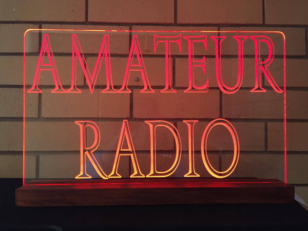 Amateur Ham Radio LED Sign