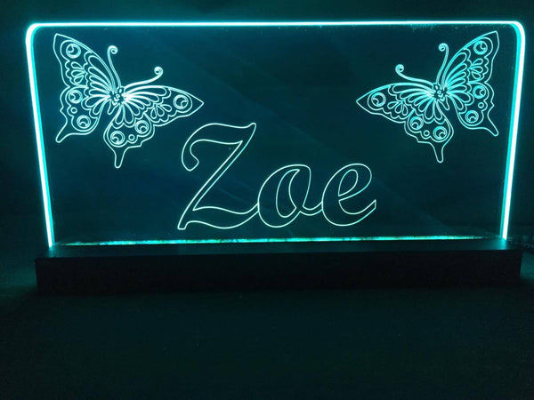 Butterfly LED light - designaglo
