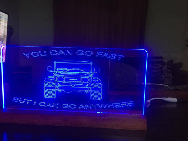 FJ 40 Landcruiser LED light