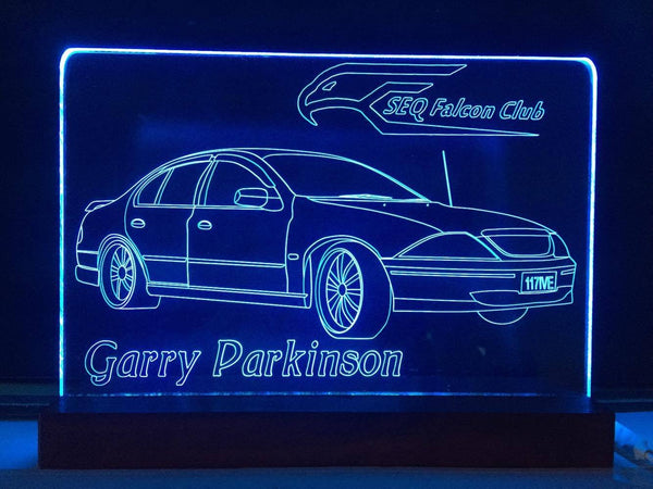 Ford Falcon LED light - designaglo