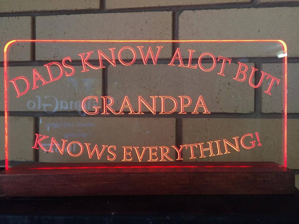 Grandpa LED Light