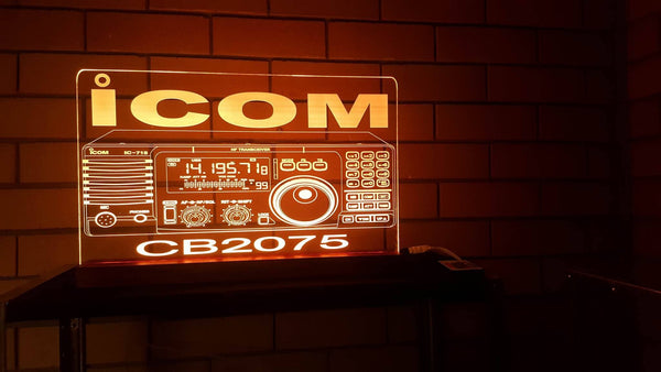Ham Radio LED Sign - designaglo