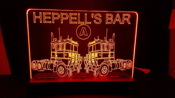 Heppels bar LED Light - designaglo