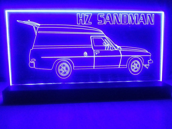 Holden HZ SANDMAN LED light - designaglo