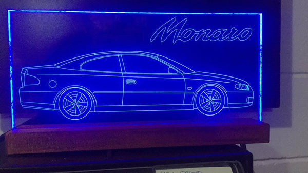 Holden Monaro LED light - designaglo