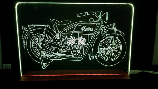 Indian Motorcycle LED light - designaglo
