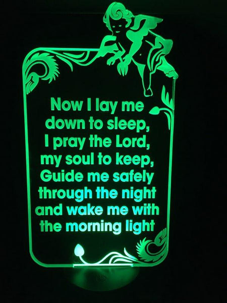 Lords Prayer LED LIGHT - designaglo
