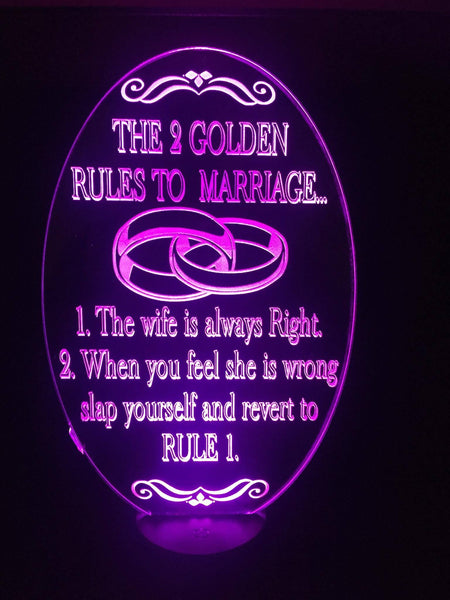 Marriage Rules - designaglo