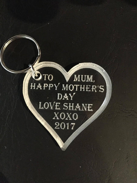 Mothers Day Key Rings - designaglo