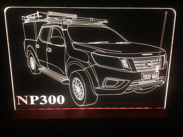 Nissan Navara NP300 LED light - designaglo