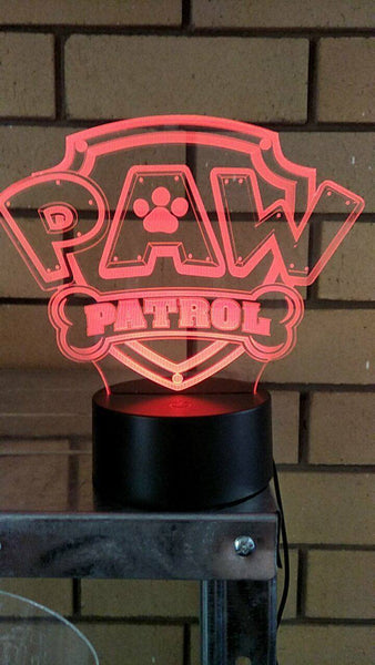 Paw Patrol LED light - designaglo