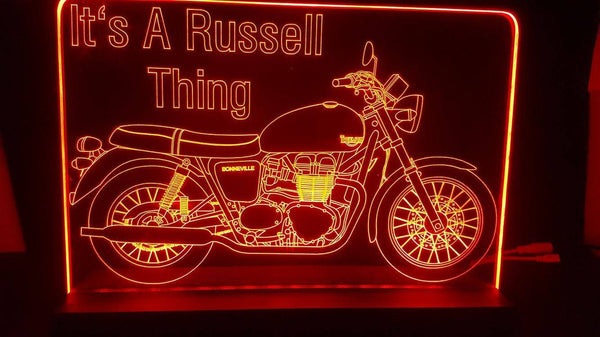 Russell thing LED Light - designaglo