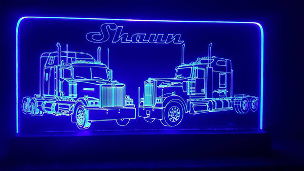 Semi Trucks LED lights
