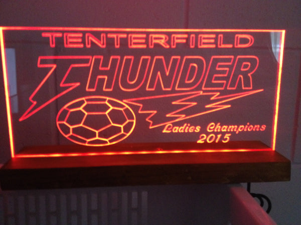 Tenterfield thunder cats LED lights - designaglo