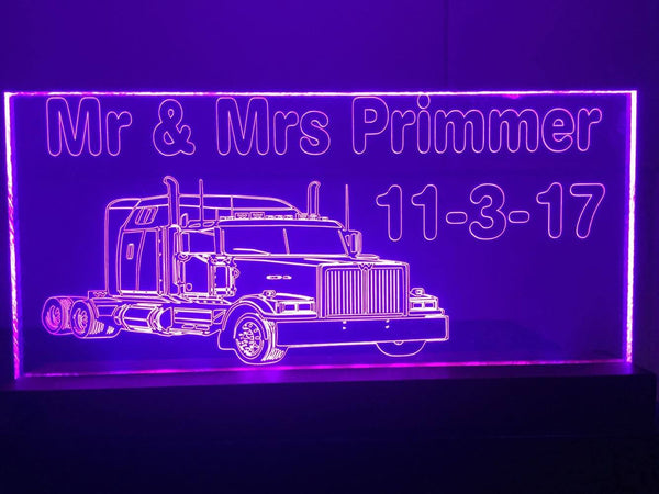 Wedding Truck LED lights - designaglo