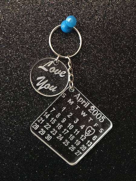 Love you Key Ring - designaglo