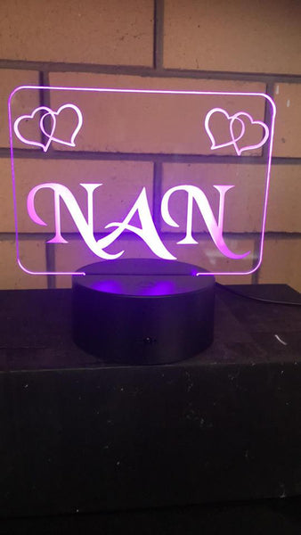 Nan Desk/night LED light - designaglo