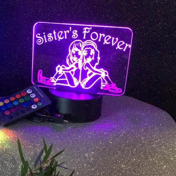 Sister LED desk/Night light