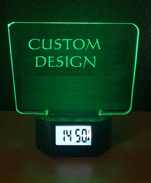 Custom Alarm Clock
